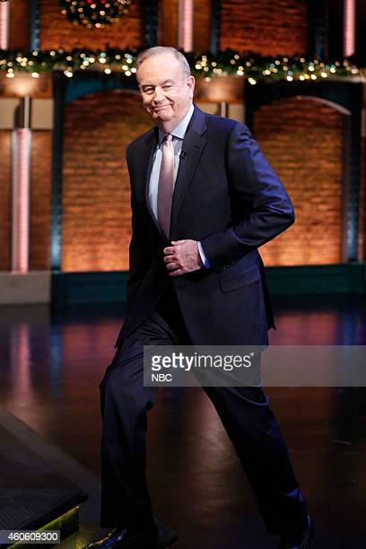 Bill O'Reilly arrives on December 17 2014