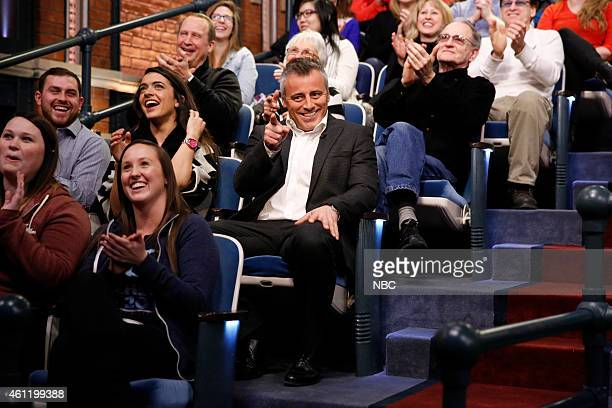 Actor Matt LeBlanc as Dr Drake Ramore during the 'Distinguished Guests' skit on January 6 2015