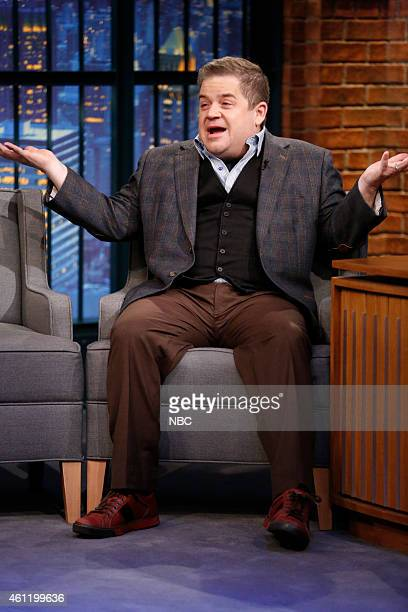 Comedian Patton Oswalt during an interview on January 6 2015