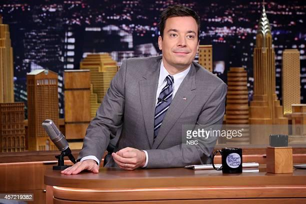 Host Jimmy Fallon on October 14 2014