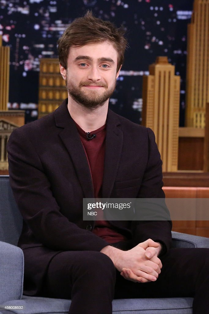 Actor <a gi-track='captionPersonalityLinkClicked' href=/galleries/search?phrase=Daniel+Radcliffe&family=editorial&specificpeople=204144 ng-click='$event.stopPropagation()'>Daniel Radcliffe</a> on October 28, 2014 --