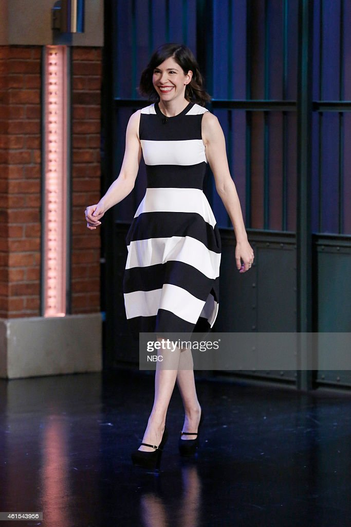Actress Carrie Brownstein arrives on January 14 2015