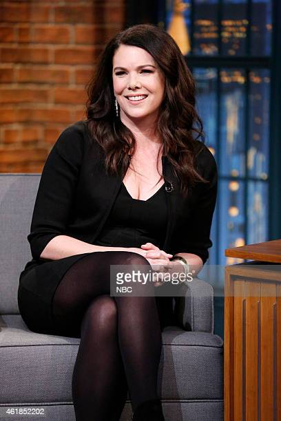Actress Lauren Graham during an interview on January 20 2015