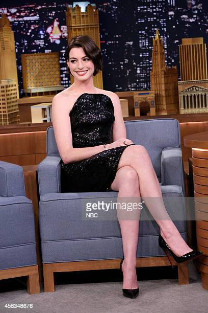 Actress Anne Hathaway on November 3 2014