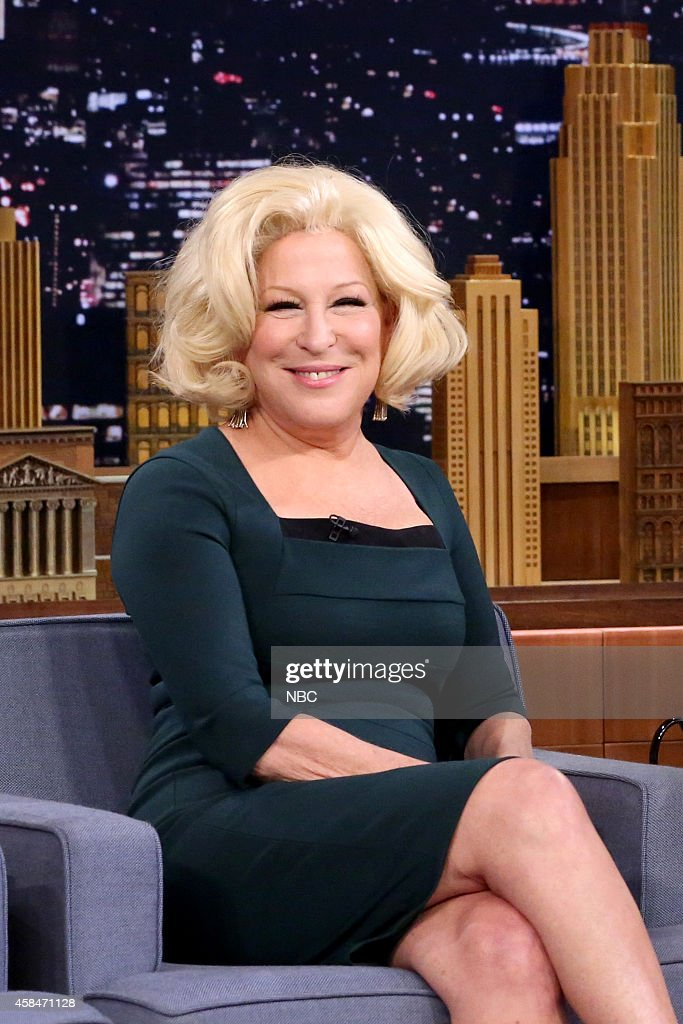 "NBC's ""The Tonight Show Starring Jimmy Fallon"" with guests Bette Midler, Jim Gaffigan"