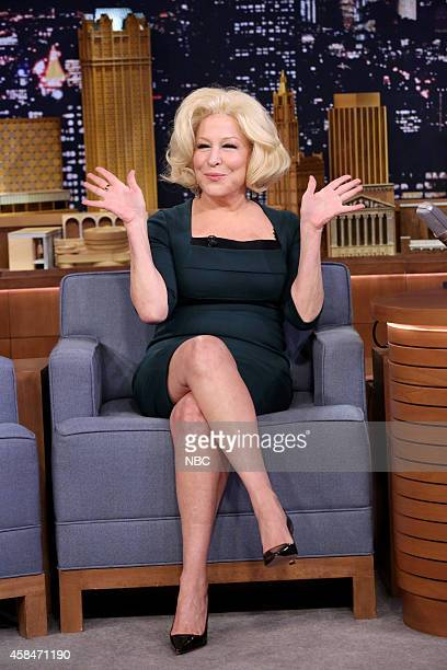 Singer Bette Midler on November 5 2014