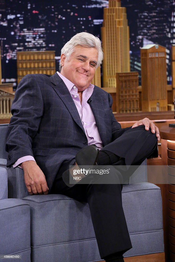 Former Tonight Show host Jay Leno on November 7, 2014 --