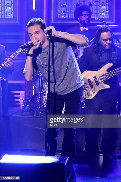 Musical guest Logic performs on November 12 2014