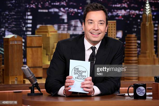 Host Jimmy Fallon during the 'Hashtags' segment on November 20 2014