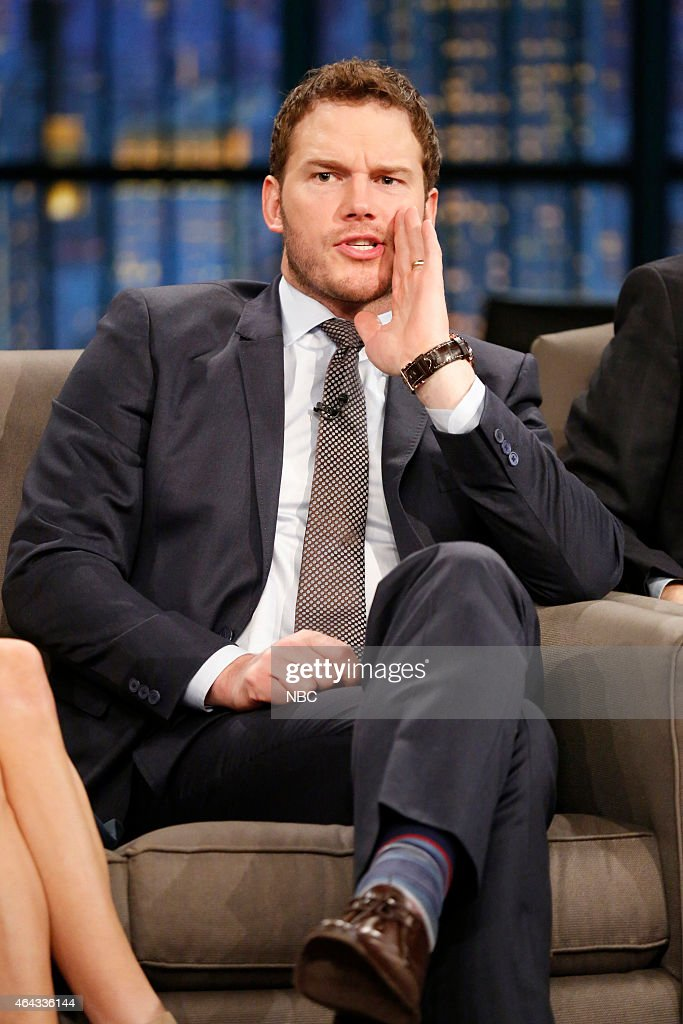 Chris Pratt of 'Parks and Recreation' during an interview on February 24 2015
