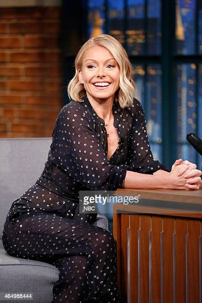 Kelly Ripa during an interview on March 2 2015