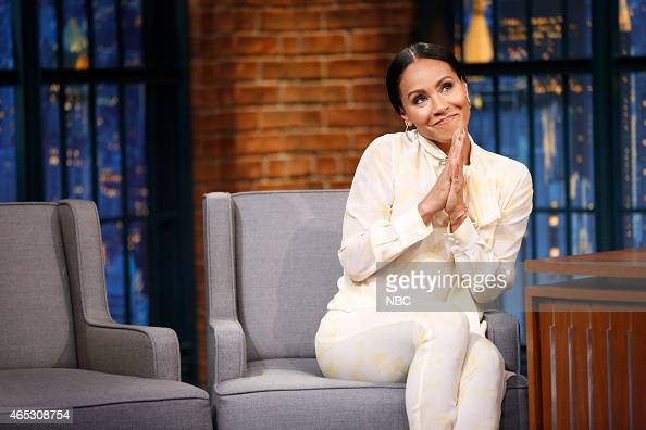 Actress Jada Pinkett Smith during an interview on March 5 2015