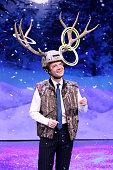 Actor Martin Freeman plays 'Antler Ring Toss' on December 12 2014