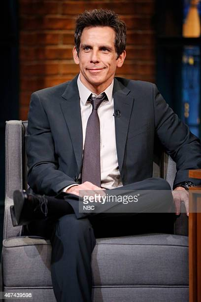 Actor Ben Stiller during an interview on March 24 2015
