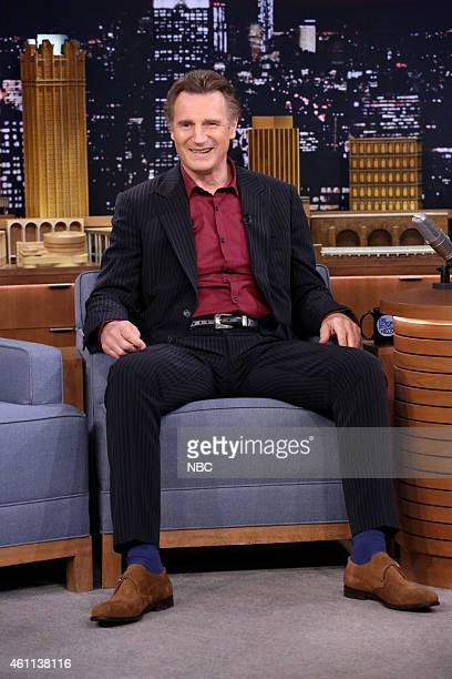 Actor Liam Neeson on January 7 2015