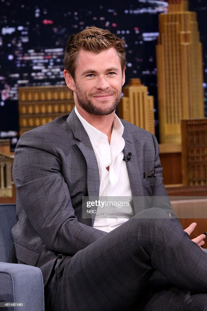 Actor <a gi-track='captionPersonalityLinkClicked' href=/galleries/search?phrase=Chris+Hemsworth&family=editorial&specificpeople=646776 ng-click='$event.stopPropagation()'>Chris Hemsworth</a> on January 13, 2015 --