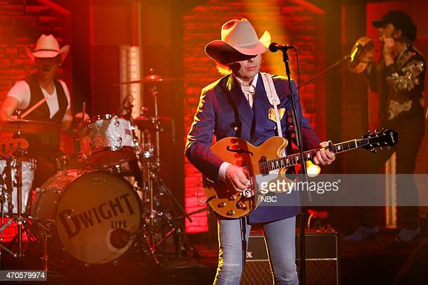 Musical guest Dwight Yoakam performs on April 21 2015