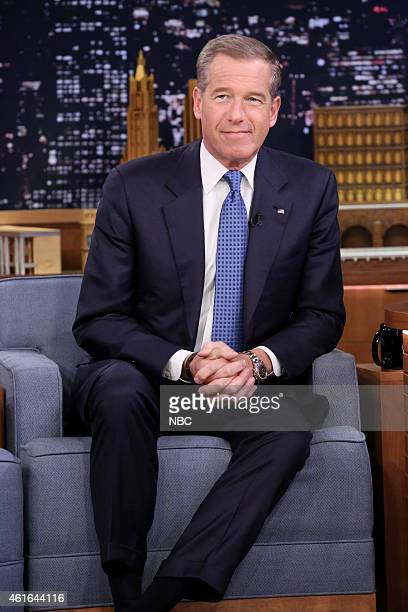 Journalist Brian Williams on January 16 2015
