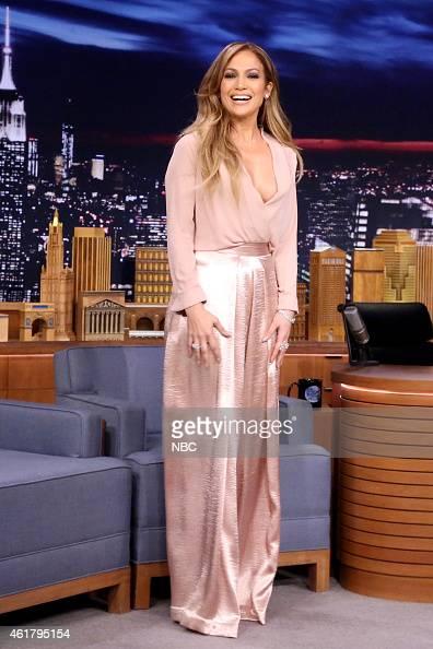 Actress Jennifer Lopez on January 19 2015