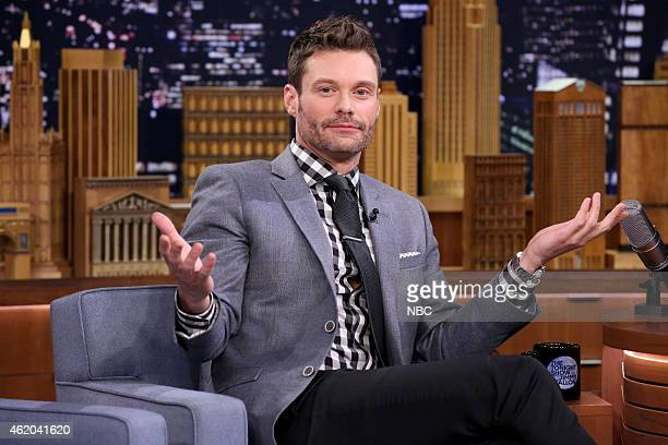 Radio personality Ryan Seacrest on January 23 2015