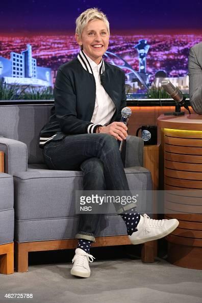Television personality Ellen DeGeneres on February 3 2015