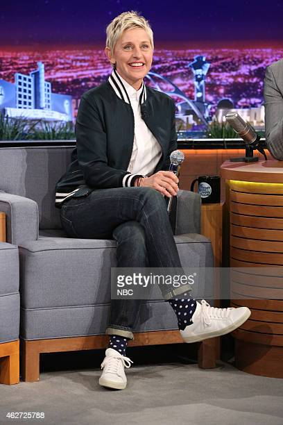 Television personality Ellen DeGeneres on February 3 2015
