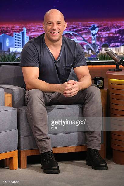 Actor Vin Diesel on February 4 2015