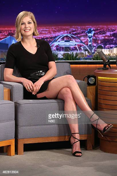 Actress Rosamund Pike on February 5 2015