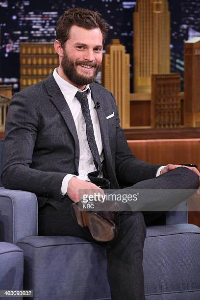 Actor Jamie Dornan on February 9 2015
