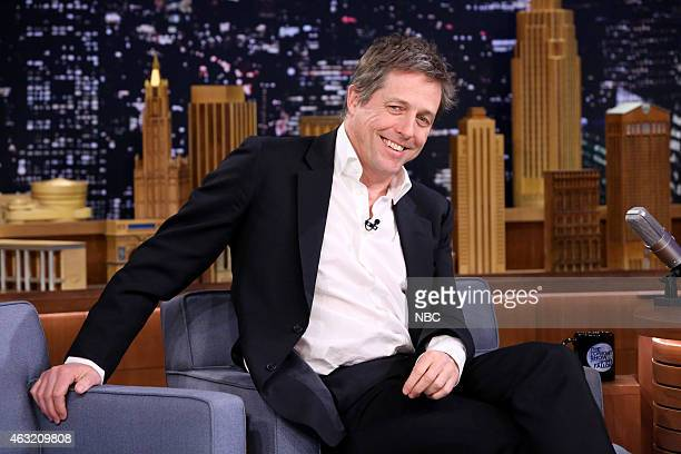 Actor Hugh Grant on February 11 2015