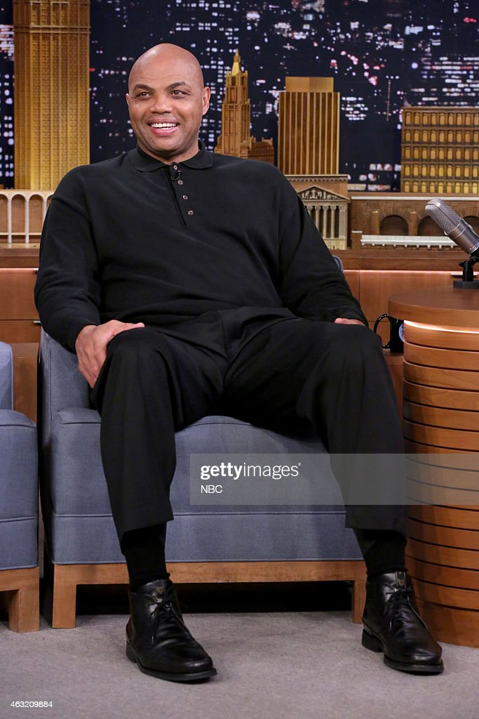 Professional basketball player <a gi-track='captionPersonalityLinkClicked' href=/galleries/search?phrase=Charles+Barkley&family=editorial&specificpeople=202484 ng-click='$event.stopPropagation()'>Charles Barkley</a> on February 11, 2015 --