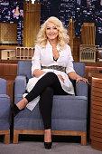Singer Christina Aguilera on February 23 2015