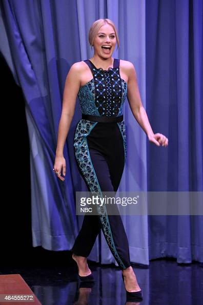 Actress Margot Robbie arrives on February 26 2015