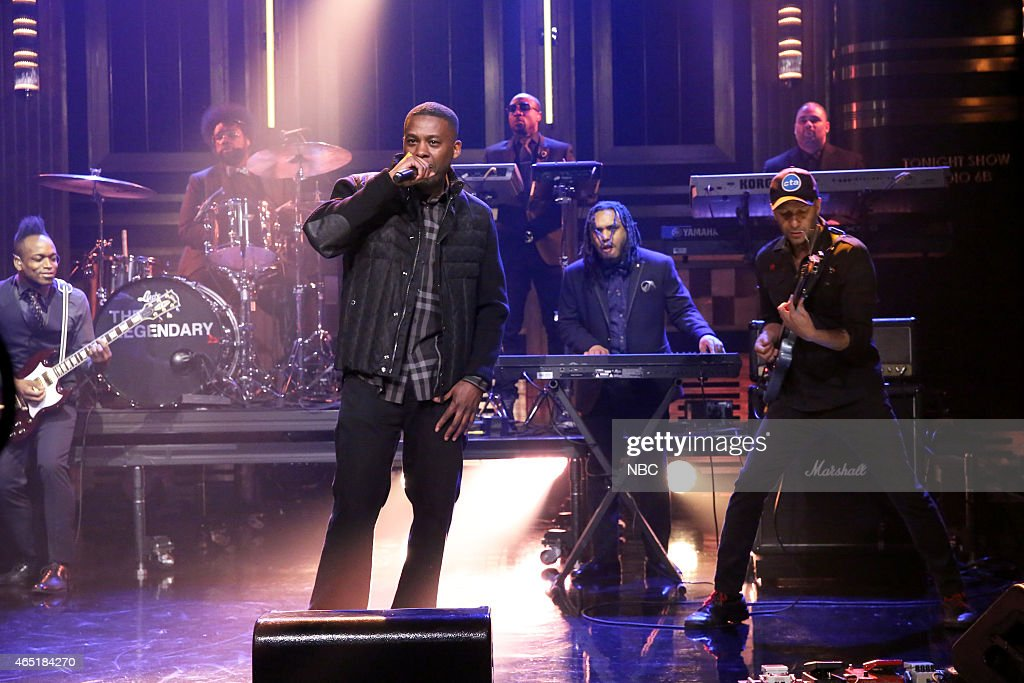 "NBC's ""Tonight Show Starring Jimmy Fallon"" with guests Judi Dench, Ansel Elgort, GZA with Tom Morello"
