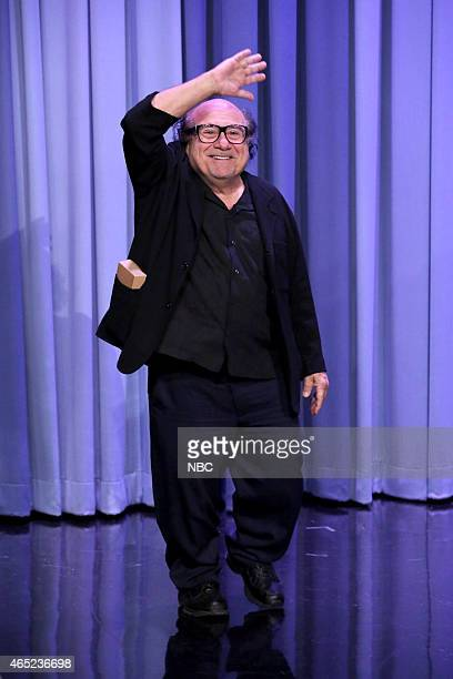 Actor Danny DeVito arrives on March 4 2015