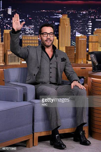 Actor Jeremy Piven on March 20 2015