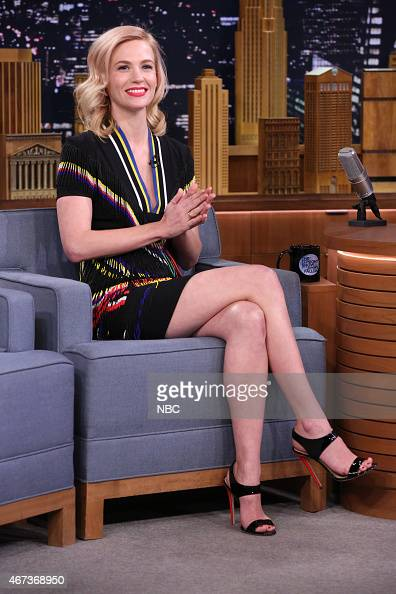 Actress January Jones on March 23 2015