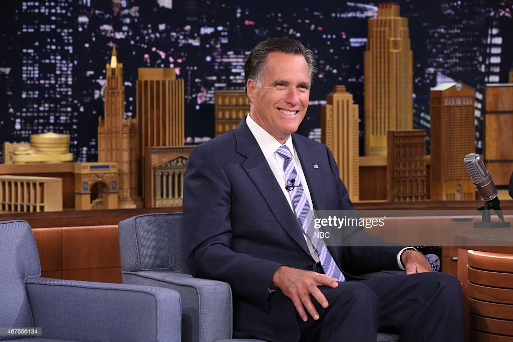 Politician <a gi-track='captionPersonalityLinkClicked' href=/galleries/search?phrase=Mitt+Romney&family=editorial&specificpeople=207106 ng-click='$event.stopPropagation()'>Mitt Romney</a> on March 25, 2015 --