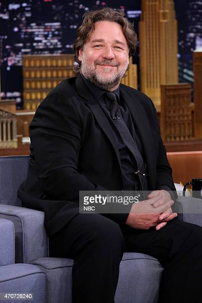 Actor Russell Crowe on April 22 2015