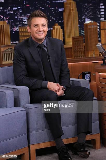 Actor Jeremy Renner on April 28 2015