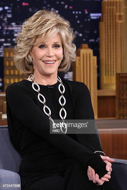 Actress Jane Fonda on May 7 2015