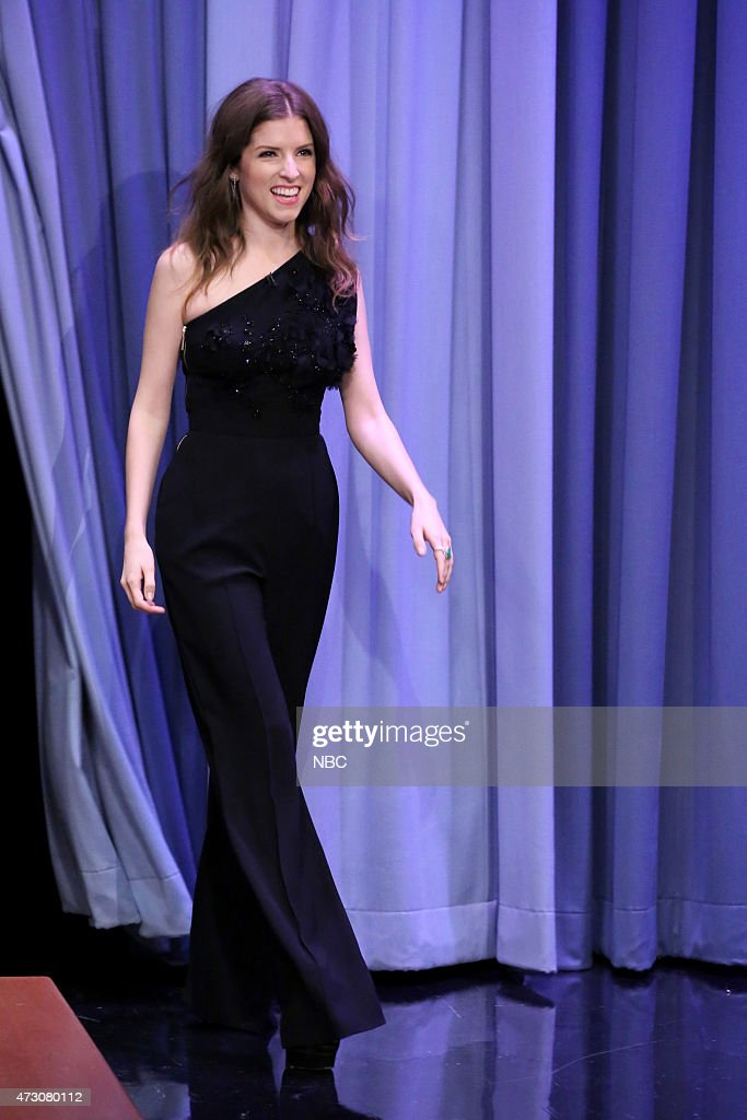 Actress Anna Kendrick arrives on May 12 2015