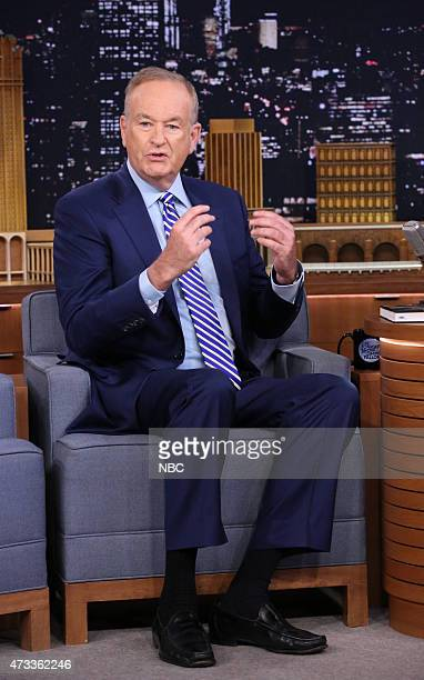 Bill O'Reilly and host Jimmy Fallon on May 14 2015