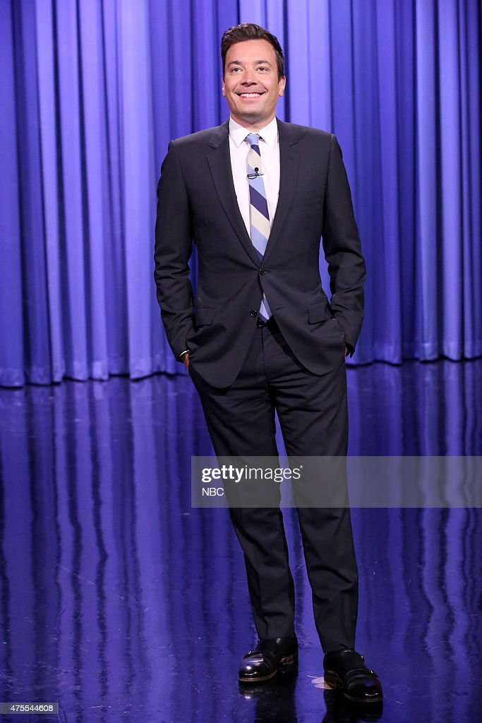 Host Jimmy Fallon during the monologue on June 1, 2015 --