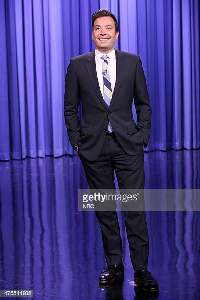 Host Jimmy Fallon during the monologue on June 1 2015