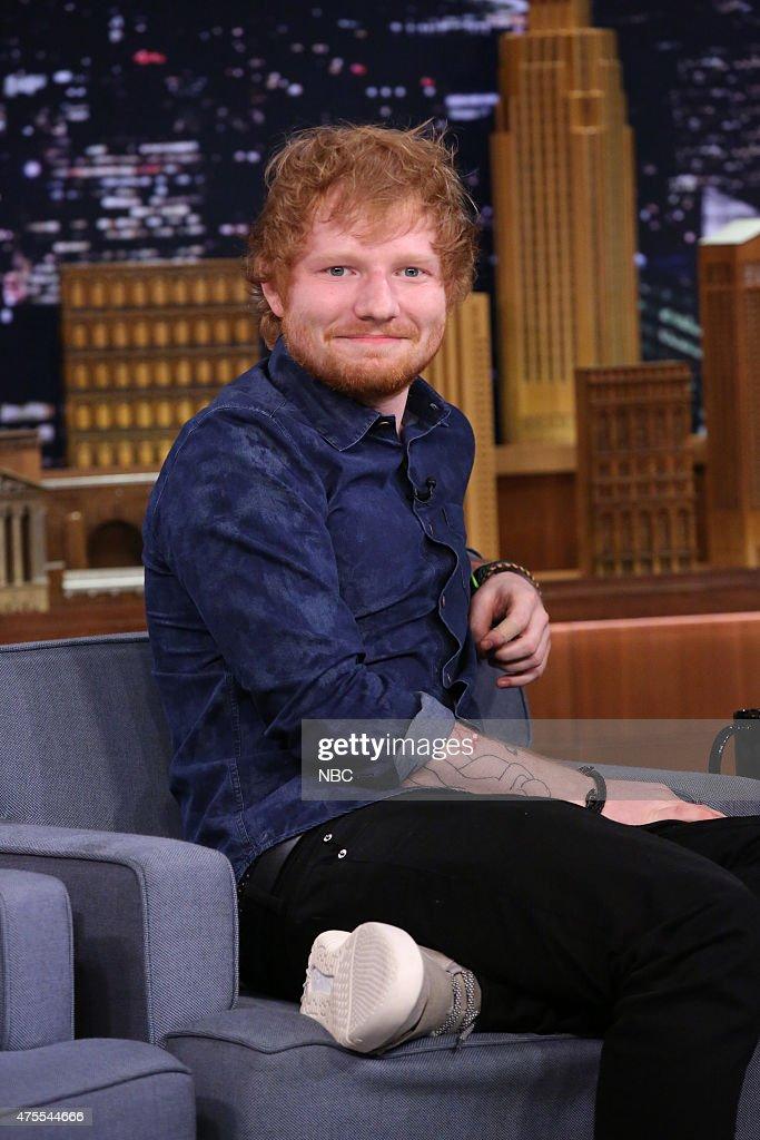Musician Ed Sheeran on June 1, 2015 --