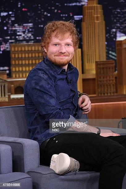 Musician Ed Sheeran on June 1 2015