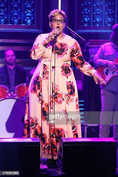 Brittany Howard of musical guest Alabama Shakes performs on June 8 2015