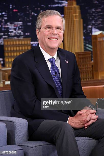Former Governor Jeb Bush on June 16 2015