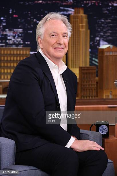 Actor Alan Rickman on June 17 2015